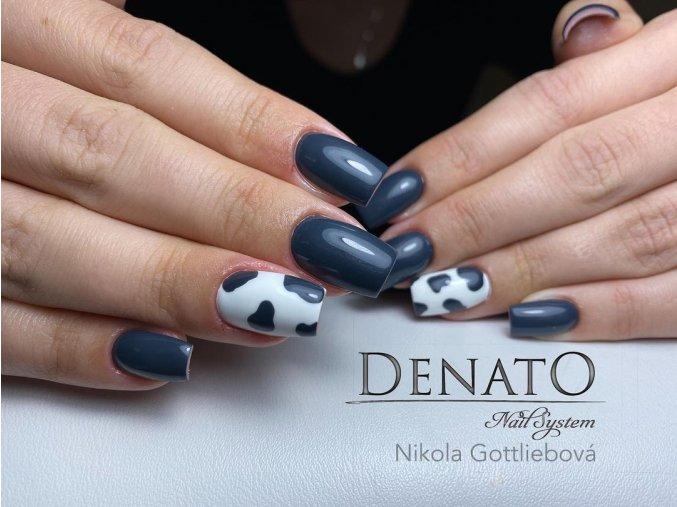 2095 Slate Grey barevný uv led gel šedý