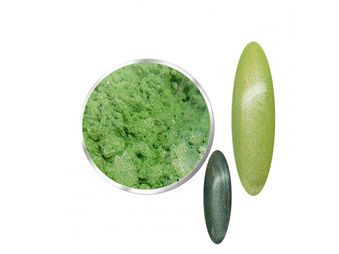 Diamond Silk Light Green  Pigmenty