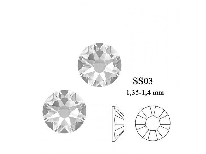 9001 Swarovski Crystal SS03