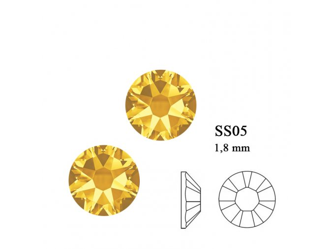 9210 Swarovski Sun flower SS05