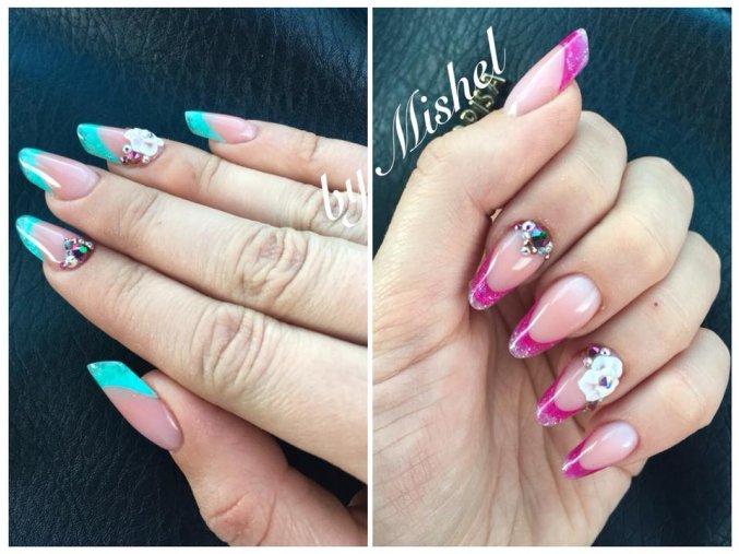 4091 Calypso barevný uv led gel glitrový efektový