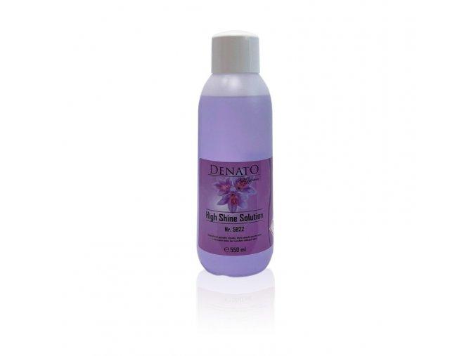High Shine Solution odstraňovač gelových výpotků šetrný, balení 550 ml růžový