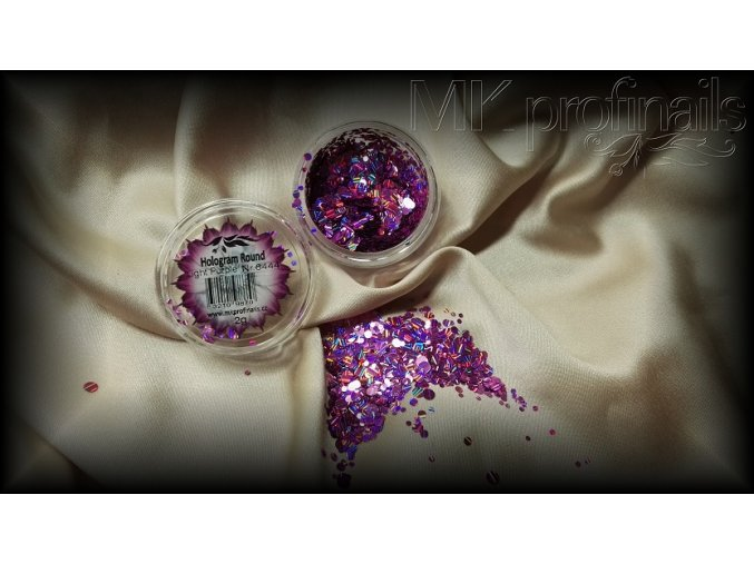 Light Purple  Třpytky a Glitry