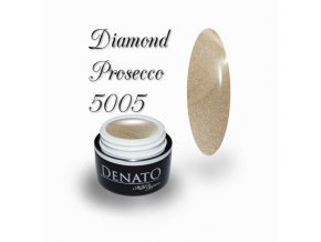 5005 diamond prosecco barevný uv led gel prosecco