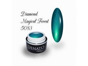 5083 Magical Forest barevný uv led gel perleťový zelený