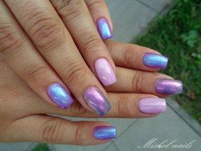 2547 FLOP Dusty Rosa Lilla, barevný UV LED gel růžový