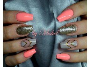 2093 Mysterious Grey, barevný UV LED gel, šedý