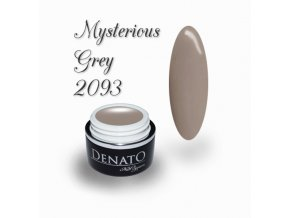 2093 Mysteious Grey barevný uv led gel nude