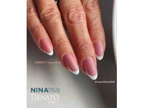 web PERFECT Cover Rosé, kamuflážní camouflage UV LED gel, potírací, barva růžová