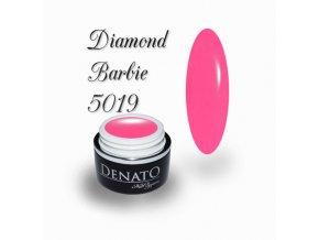 5019 Diamond Barbie barevný uv led gel neonový růžový