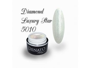 5010 diamond luxury star barevný uv led gel prosecco