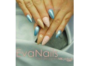 3082 Pearl Blue, perleťový modrý barevný uv led gel
