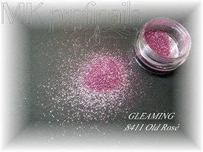 GLEAMING Old Rosé  Třpytky a Glitry