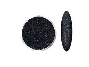 Laser Holographic Nice Black  Třpytky a Glitry