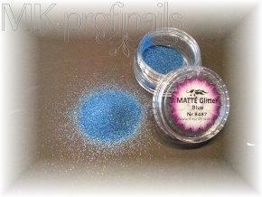 MATTÉ Blue  Třpytky a Glitry