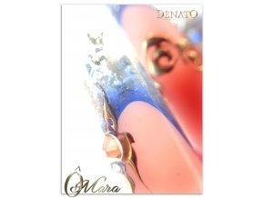 5085 Diamond paradise, barevný uv led gel s diamantovým efektem, modrý
