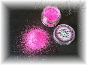 MATTÉ NEON Pink  Třpytky a Glitry