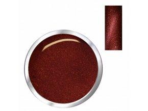 3808 CAT EYE cornelian barevný uv led gel cihlový