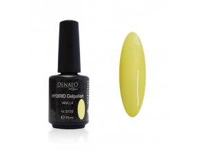 5722 Hybrid Gelpolish Vanila žlutý uv led gel, 15 ml