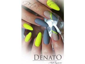 2150 NEON Sharp Yellow, neonový žlutý barevný UV LED gel