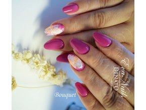 2070 Bouquet, barevný UV LED gel, růžový