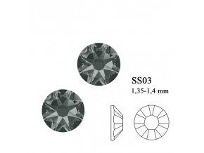 9007 Swarovski Black Diamond SS03