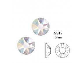9251 Swarovski Crystal AB SS12