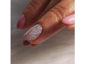 4008 Holographic Diamond, holografický glitrový barevný uv led gel