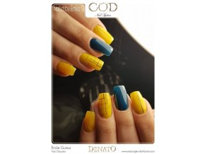 2013 Mustard barevný UV led gel hořčicová barva