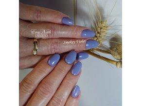 2016 Smokey Violet, barevný UV LED gel, fialový