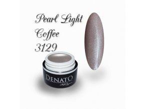 3129 Pearl Light Coffee perleťový barevný uv led gel nude