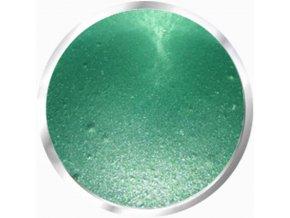 5082 Diamond rainbow green, barevný uv led gel s diamantovým efektem, zelený