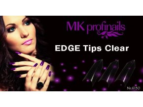 EDGE Tips Clear  Nehtové Tipy