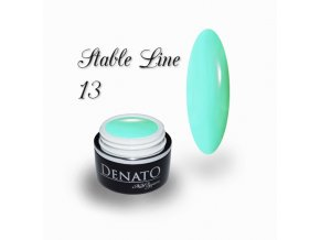 3612 STABLE Line 13 barevný bezvýpotkový uv led gel pastelový zelený