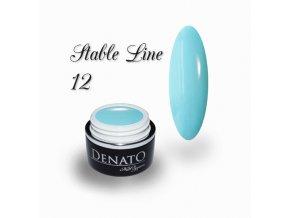 3611 STABLE Line 12 barevný bezvýpotkový uv led gel modrý