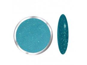 1727 Ocean Dream barevný polymer tyrkysový glitrový