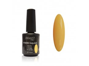 5736 Hybrid Gelpolish paste orange oranžový uv led gel, 15 ml
