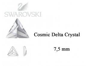 cosmic delta swarovski crystal