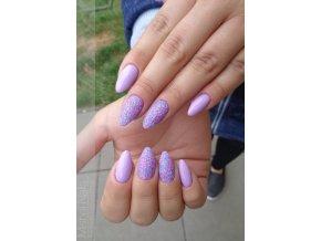2006 Violet Tulip, barevný UV LED gel fialový