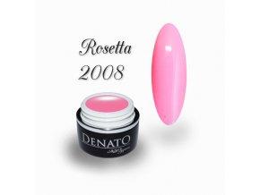 2008 Rosetta barevný uv led gel růžový