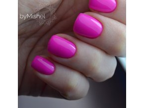 5747 Hybrid Gelpolish neon magenta, růžový uv led gel, 15 ml