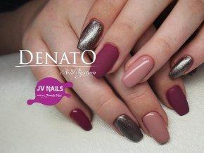 3126 Dusty Chocolate, perleťový barevný uv led gel hnědý