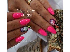 2023 NEON Pink, barevný UV LED gel, neonový růžový