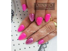 2026 Candy Rosa, barevný UV LED gel, růžový