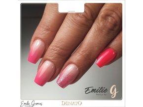 3071 Miracle barevný glitrový UV led gel stříbrný