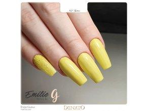23009 barevný uv led gel žlutý