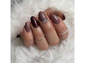 23012 Basic 12 barevný uv led gel dark nude