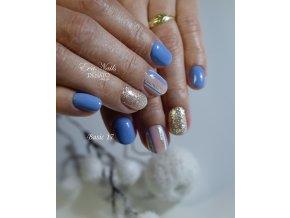 23017 basic 17 barevný uv led gel modrý