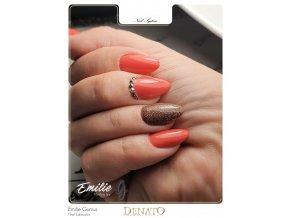 23027 Basic 27 barevný uv led gel lososový jpg