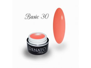23030 Basic 30 barevný uv led gel lososový jpg